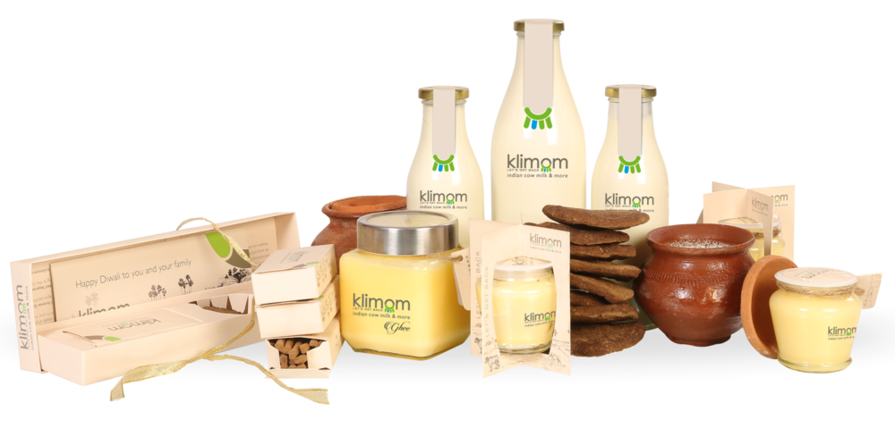 Klimom – Desi Indian Cow Milk, Ghee and Products