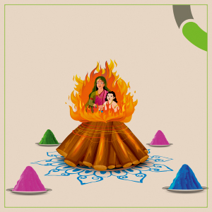 Burn evil and let the hues of nature and goodness fill your life this Holi