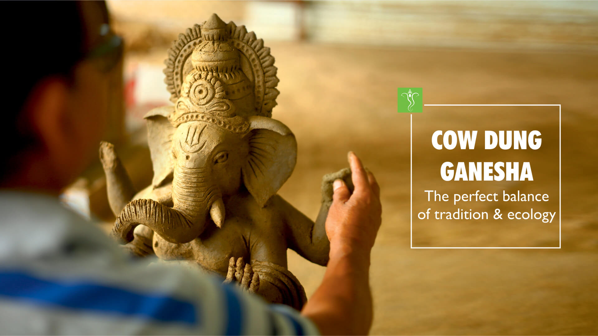 Klimom- Indian Holy cow dung cakes for Ganesh Chaturthi