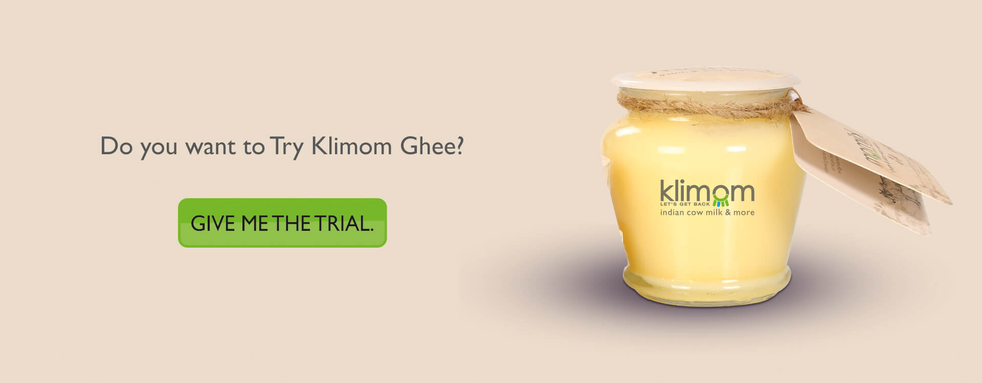 Klimom – Pure A2 cow Ghee and more