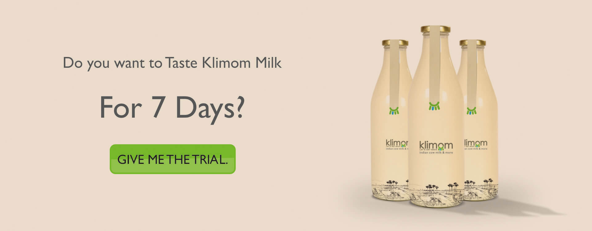 Desi Indian Cow milk in Hyderabad | Klimom A2 milk