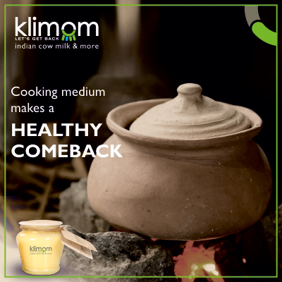 Traditional Cooking medium makes a healthy comeback